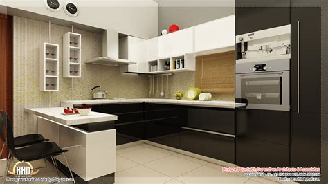 home interior kitchen designs beautiful home interior designs kerala home design and