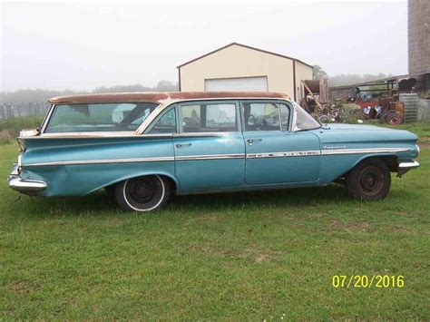 1959 chevrolet for sale 1959 chevrolet kingswood for sale classiccars cc