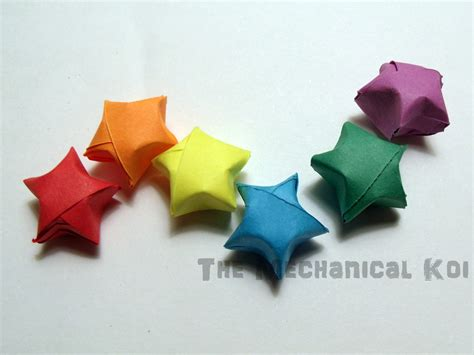Wishing Origami - origami paper kit rainbow sheets 100 strips lucky