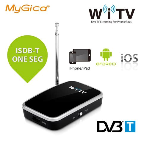 how to connect android to tv wireless aliexpress buy isdb t dvb t geniatech mygica witv tv for iphone android devices