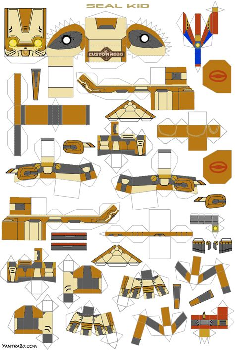 Free Papercraft Templates - best photos of 3d papercraft templates 3d papercraft