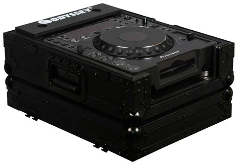 format cd player odyssey fzcdjbl black universal large format cd player