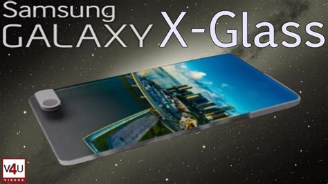 samsung galaxy x glass release date price specifications bezel less design