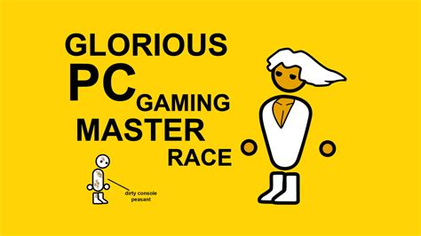 Pc Master Race Meme - mods and the pc gaming master race usgamer