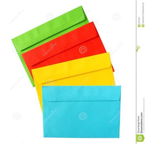 color envelopes color envelopes royalty free stock image image 2316136