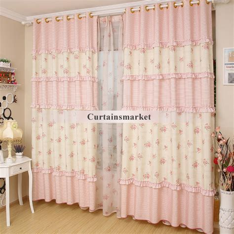 country curtain patterns country style floral pattern curtains for eco friendly