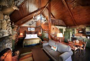 Big Loft room cabin with loft these elegant one room cabins with loft include
