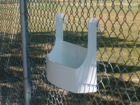 Planters On Fence by Planter For A Cyclone Chain Link Fence