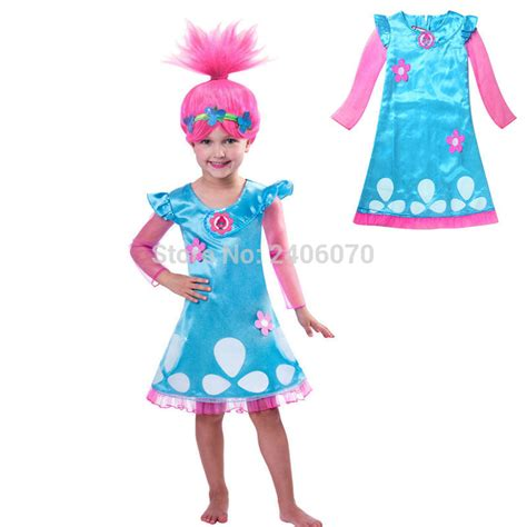 new year costume new year 2017 trolls costumes for baby dress