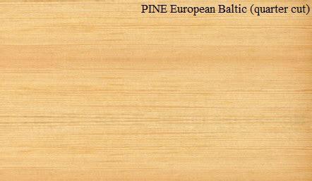European Pine Wood Veneer