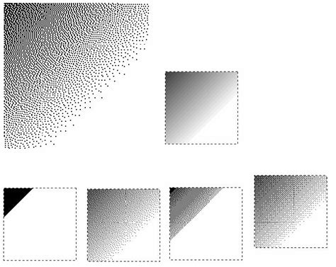 second templates for gimp dither