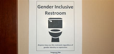gender inclusive restrooms implemented across cus the