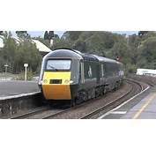 1C86 43187 43188 GWR Green HST London Paddington To