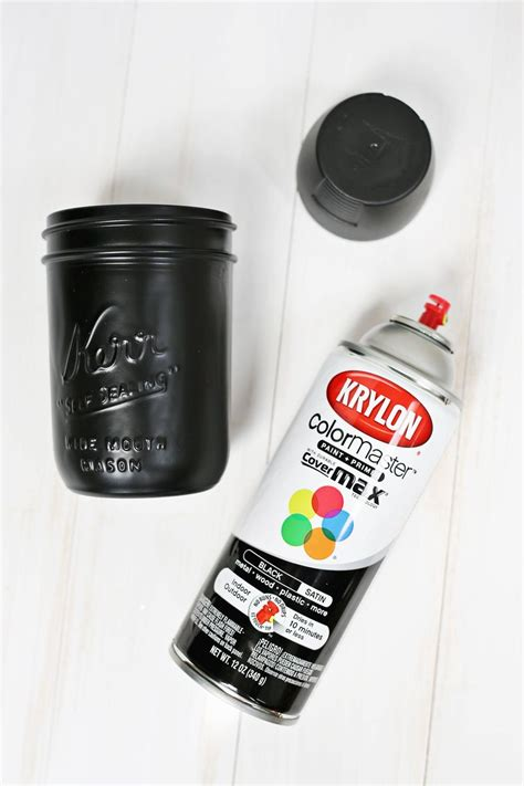spray paint layers ghost lollipop bouquet a beautiful mess