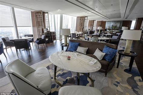 ting room shangri la hotel at the shard opens its doors daily mail