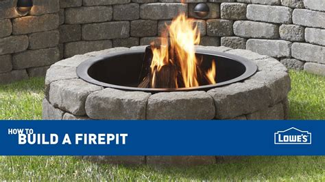 How To Build An Outdoor Fire Pit Youtube