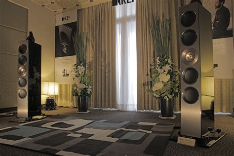 high   home theater system  kef reference