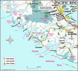 map of canada west coast map of the pacific west coast vancouver island
