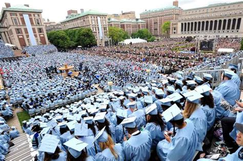 Columbia Mba Courses Fall 2015 by Master S In Statistics Graduates At Columbia 80