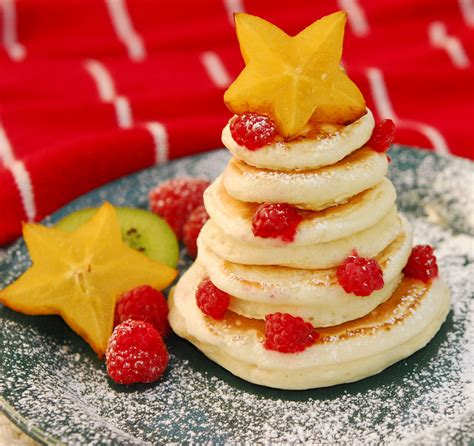 christmas inspired breakfast food for 35 edible tree craft ideas