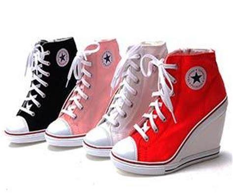 Sepatu Converse Wedges converse wedge heels