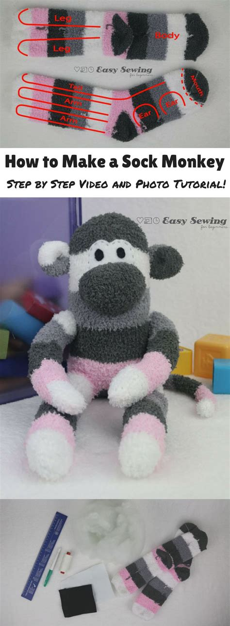 sock animals easy 25 best ideas about sock crafts on sock animals cat crafts and stuffed animal monkey