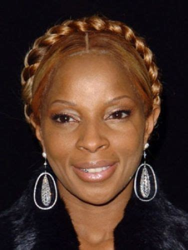 braided hairstyles mary j blige 24 crown braids done right page 1 of 2