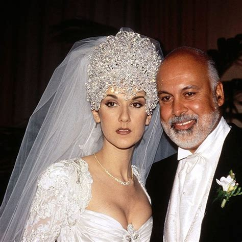 Celine dion marriage