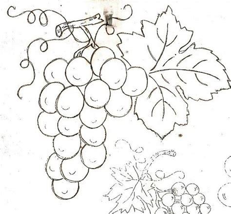 imagenes de uvas para bordar pontinhos da tati uvas