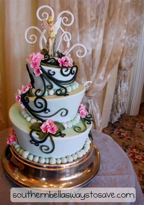 tinkerbell wedding cake all things disney wedding cakes cake cupcake cakes