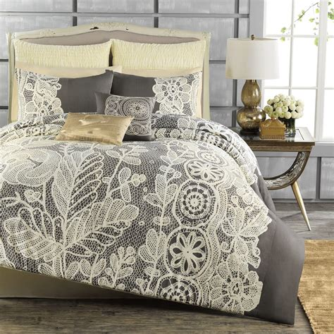 bed bath and beyond white comforter anthology madeline reversible comforter from bed bath