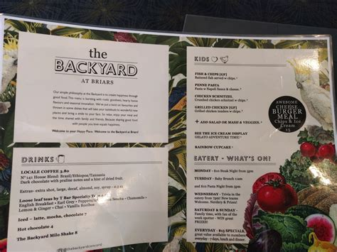 backyard coney island menu 100 the backyard menu winningkyard ideas amazing