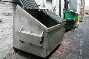Commercial Trash Can Cabinet Free Photo Dumpster Trash Downtown Outside Free