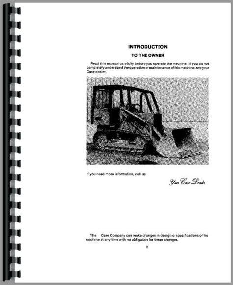 Case 450c Crawler Operators Manual