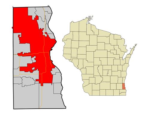 Milwaukee County Search File Milwaukee County Wisconsin Incorporated And Unincorporated Areas Milwaukee