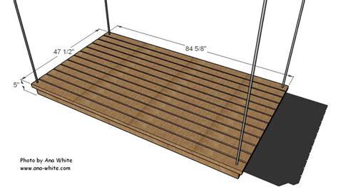 Hanging Bed Frame Plans Best 25 Hanging Porch Bed Ideas On Porch Bed Porch Swings And Porch Swing