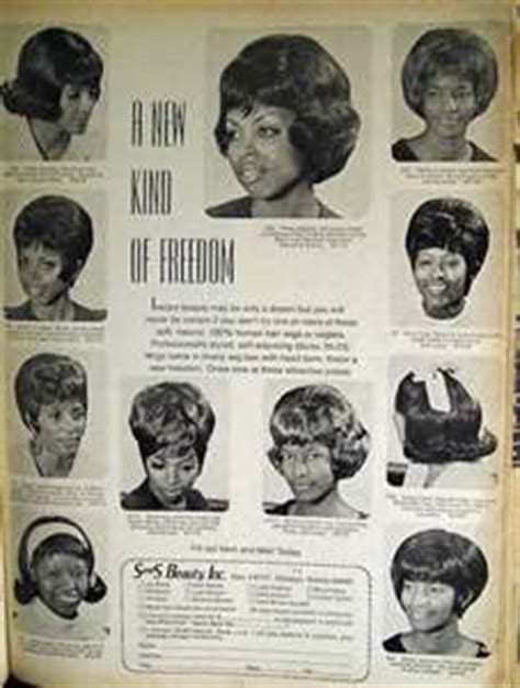 1960 african american hairstyles vintage african american ad for wigs 1960s or 1950s