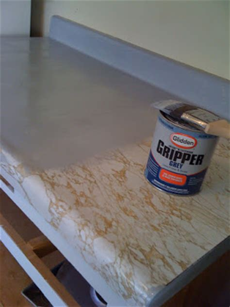 spray painting laminate countertops rocky before after painting my countertops