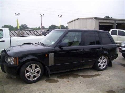 land rover bank purchase used 2000 land rover range rover hse 4 6 nav blk