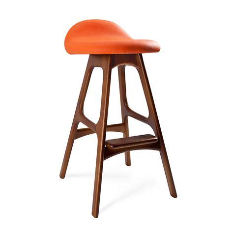 century furniture bar stools mid century inspired bar stool orange dotandbo com i