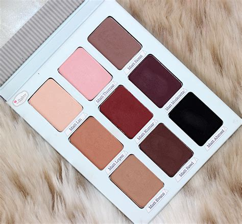 The Balm Eyeshadow Pallette thebalm meet matt e trimony palette looks review my eyeshadow consultant
