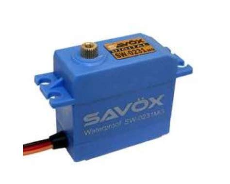 Savox Sw0231mg Waterproof High Torque Std Metal Gear Digital Servo savox sw 0231mg waterdichte high torque std metal gear dig