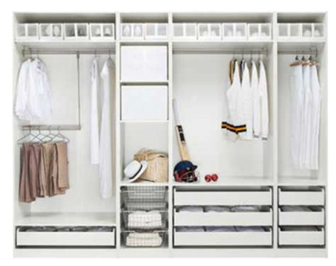 ikea design your own wardrobe maison get organized the dreaded closet