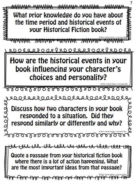 historical fiction book report ideas gearing up for book clubs about fifth grade