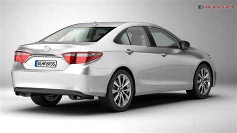 Toyota Camry Models by Toyota Camry 2015 3d Model Buy Toyota Camry 2015 3d