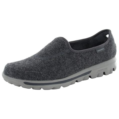 skechers slip on athletic shoes skechers performace go walk compose slip on walking