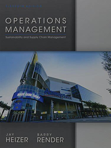 operations management 13th edition books heizer barry render author profile news books and