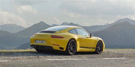 New 911 Porsche by Meet The Porsche 911 T The Lightest 911 Available