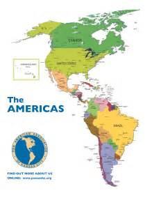 americas map maps pan american association of kansas city