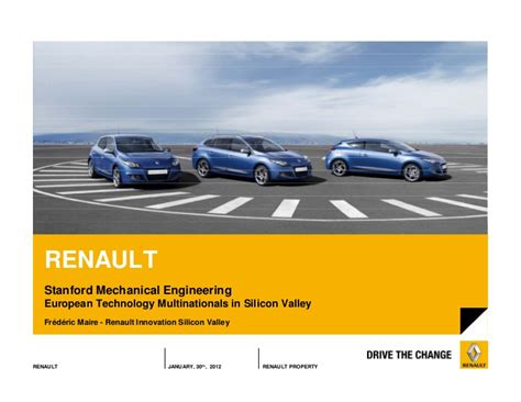 frederic maire renault innovation silicon valley